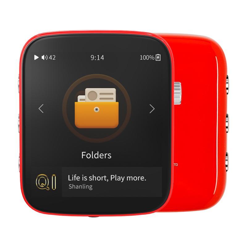 Shanling Q1 シャンリン オーディオ プレーヤー Bluetooth レシーバー 3.5mm LDAC aptX MP3 ミュージック 音楽 小型 レトロ デザイン ポケット サイズ【全4色】|heylisten|07