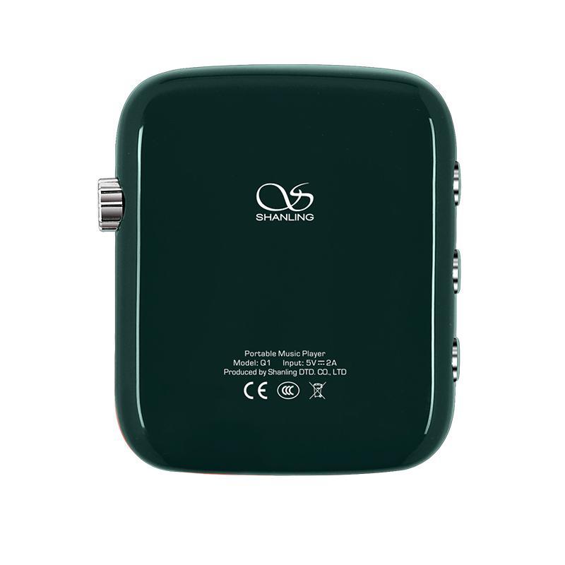 Shanling Q1 シャンリン オーディオ プレーヤー Bluetooth レシーバー 3.5mm LDAC aptX MP3 ミュージック 音楽 小型 レトロ デザイン ポケット サイズ【全4色】|heylisten|03