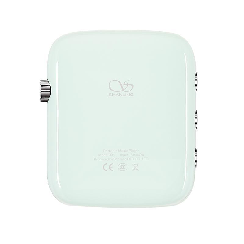 Shanling Q1 シャンリン オーディオ プレーヤー Bluetooth レシーバー 3.5mm LDAC aptX MP3 ミュージック 音楽 小型 レトロ デザイン ポケット サイズ【全4色】|heylisten|05