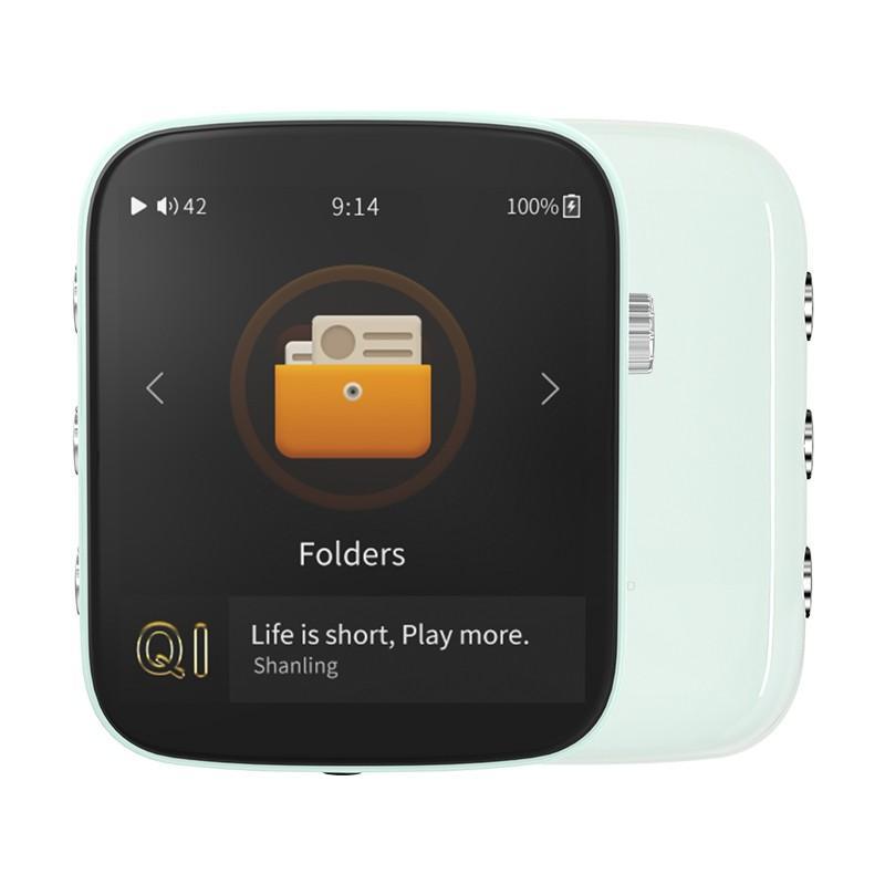 Shanling Q1 シャンリン オーディオ プレーヤー Bluetooth レシーバー 3.5mm LDAC aptX MP3 ミュージック 音楽 小型 レトロ デザイン ポケット サイズ【全4色】|heylisten|08