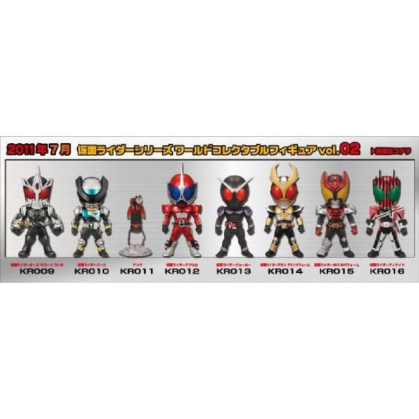 仮面ライダーシリーズ ワールドコレクタブルフィギュア vol.2 全8種セット