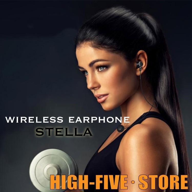 SALE ワイヤレス イヤホン STELLA Bluetooth  ヘッドセット USB スマホ ハンズフリー ギフト hfs05 04