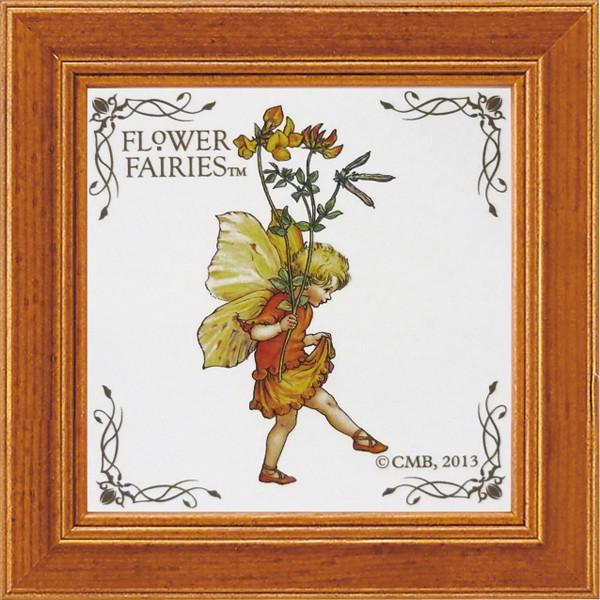 フラワーフェアリーズ ミニアートフレーム 「バーズフットトレフォイル」  妖精 ボタニカル イギリス 雑貨 |hgpkaruizawa