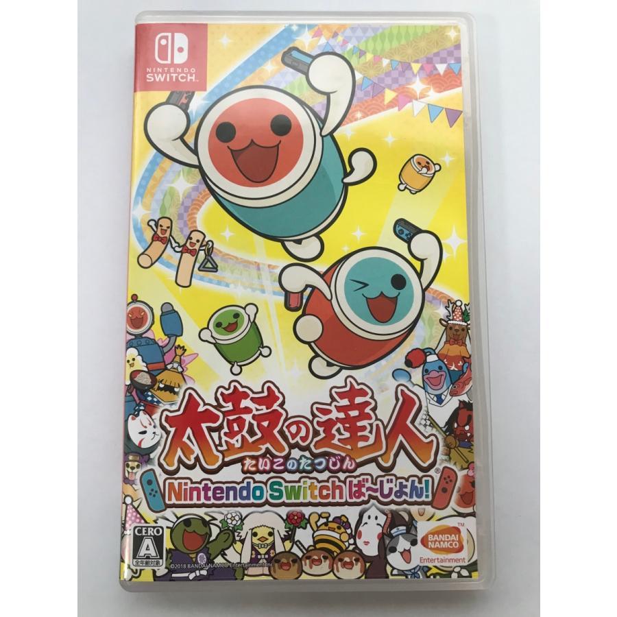 Switch  太鼓の達人 Nintendo Switchば〜じよん! 中古|hhshop