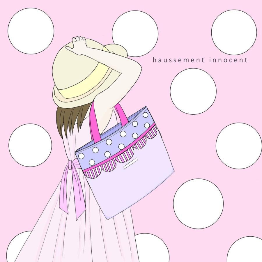 【3点セット】帆布とスカラップの●レッスンバッグ●シューズケース●体操服入れ pink×purple サイズ変更可能|hi-inari|16