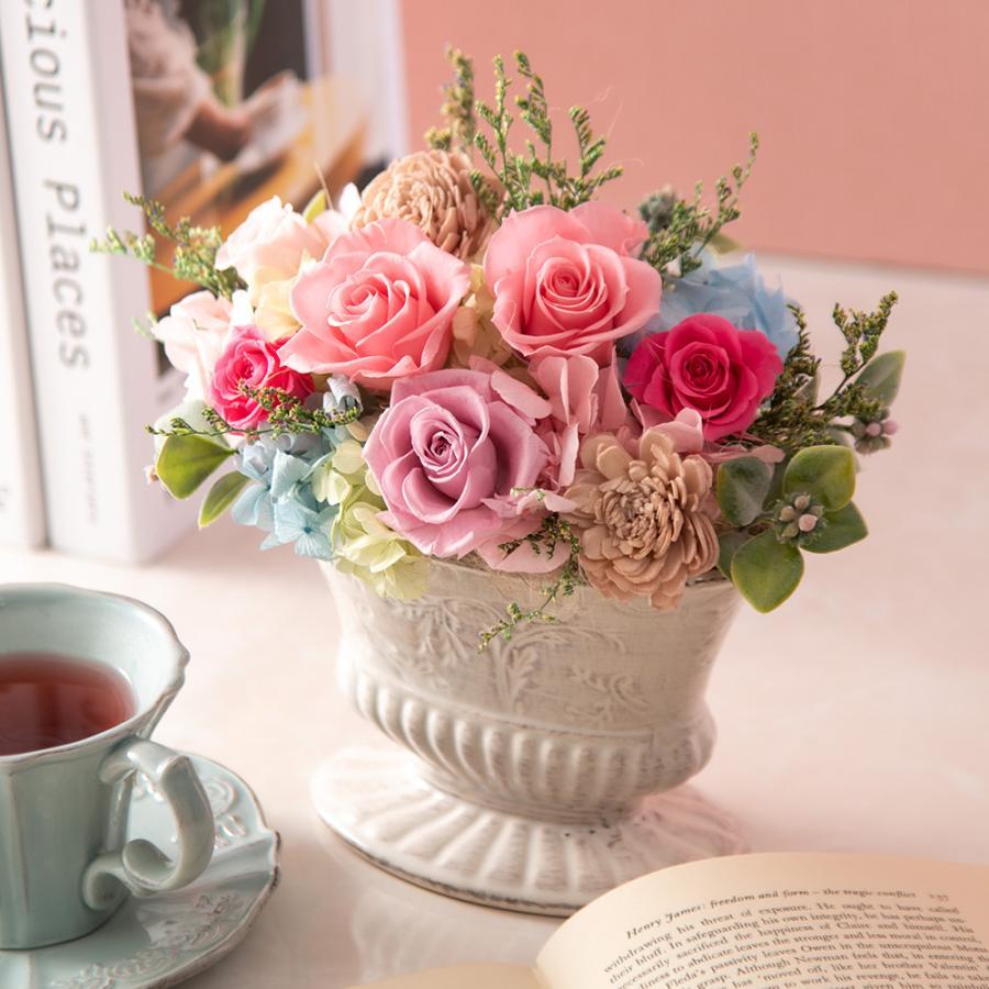 母の日 プリザーブドアレンジメント「フロレスタ」  日比谷花壇
