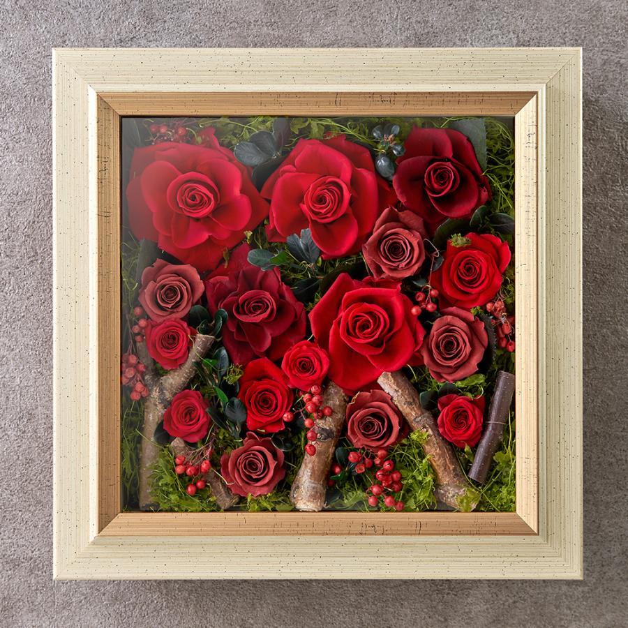 誕生日 お祝い 花 デザイナーズフレームアート「スプランドゥール」  日比谷花壇
