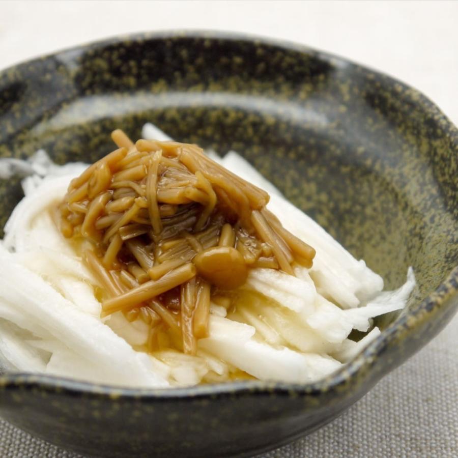 えのき茶漬 なめたけ 200g10本 ご飯のお供 お買い得 佃煮 国産|hida-yama-sachi|06