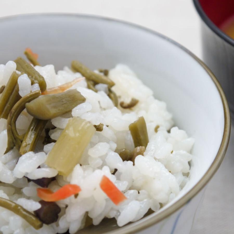 山菜五目 酢めしの素 炊き上がったごはんに混ぜるだけ お取り寄せ hida-yama-sachi 03