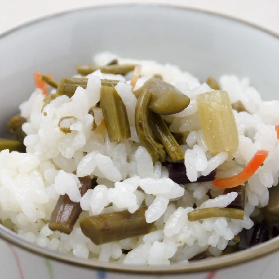 山菜五目 酢めしの素 炊き上がったごはんに混ぜるだけ お取り寄せ hida-yama-sachi 04