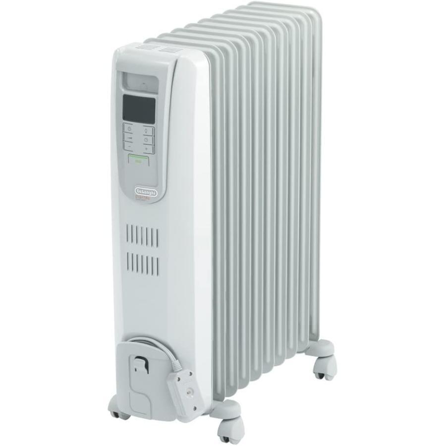 DeLonghi オイルヒーター デジタルラディアント サーマルカットフィン10枚 【4~10畳用】 KHD411015-LG