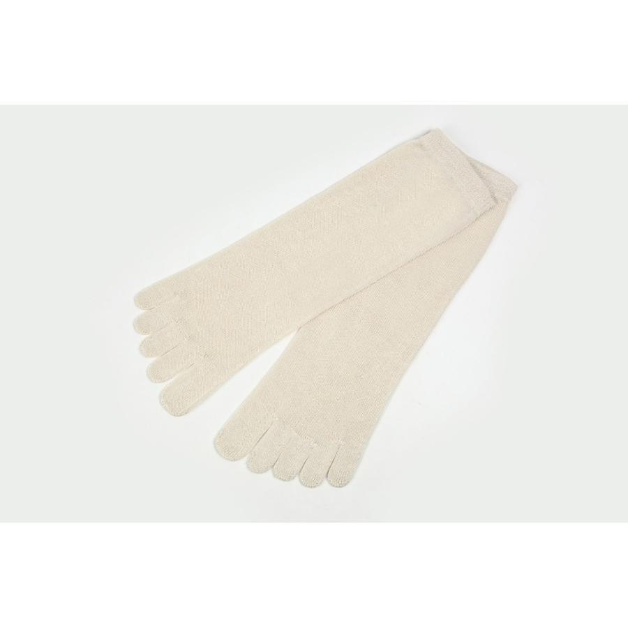 utatane 日本製 冷えとり靴下 シルク100% 5本ゆびソックス(かかと無) レディーズ|hietoriutatane