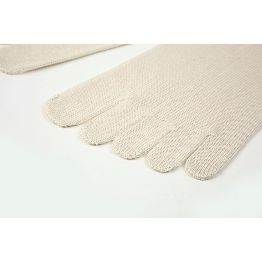 utatane 日本製 冷えとり靴下 シルク100% 5本ゆびソックス(かかと無) レディーズ|hietoriutatane|02
