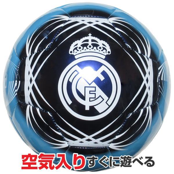 サッカーボール 予約販売 4号球 アウトレットセール 特集 レアルマドリード カラー 小学生用 REALMADRID ブルー