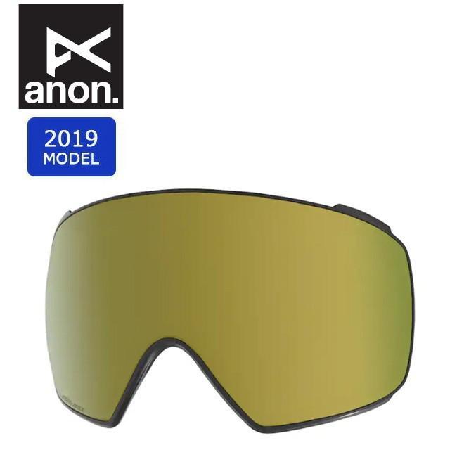 2019 anon アノン M4 TORIC SONAR LENS SONAR BRONZE 20450100713 【スペアレンズ/ゴーグル/日本正規品/メンズ】