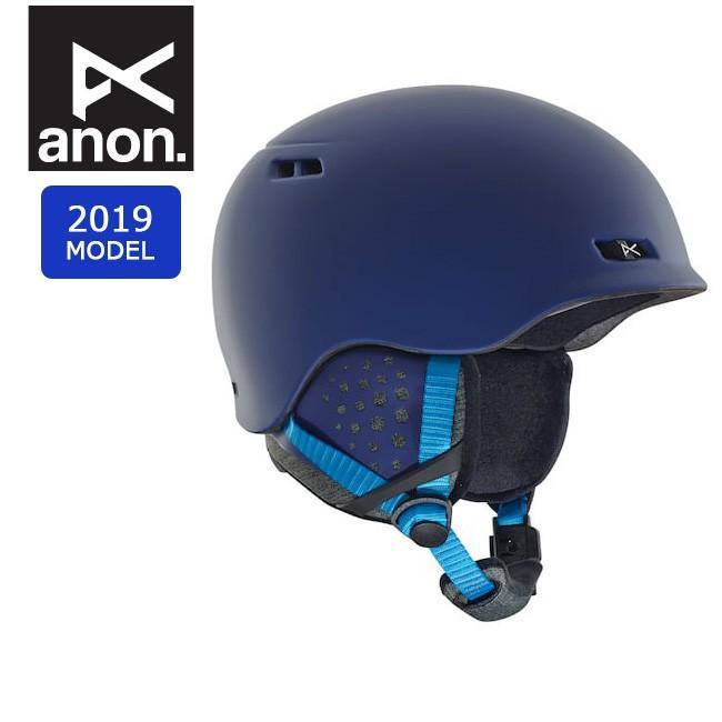 2019 anon アノン RODAN 青 13362104400 【ヘルメット/日本正規品/メンズ】