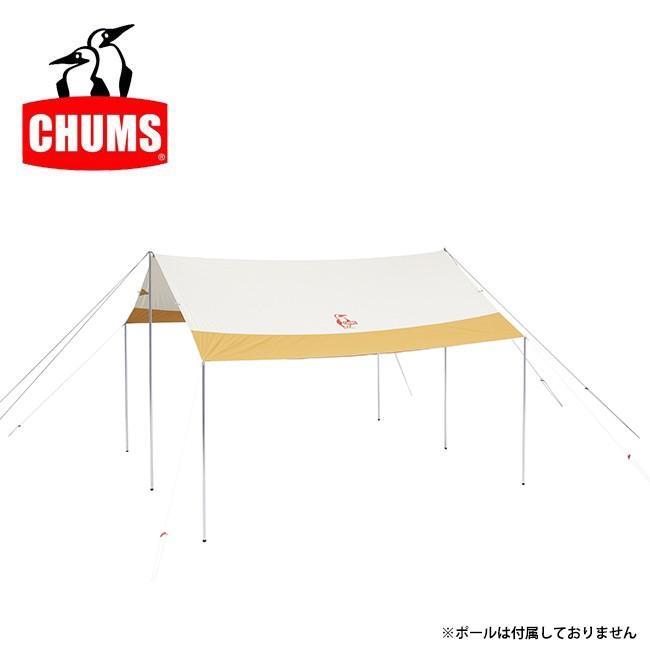 CHUMS チャムス Booby T/C Tarp Square ブービータープスクエア CH62-1521 【タープ/テント/キャンプ/アウトドア】 highball