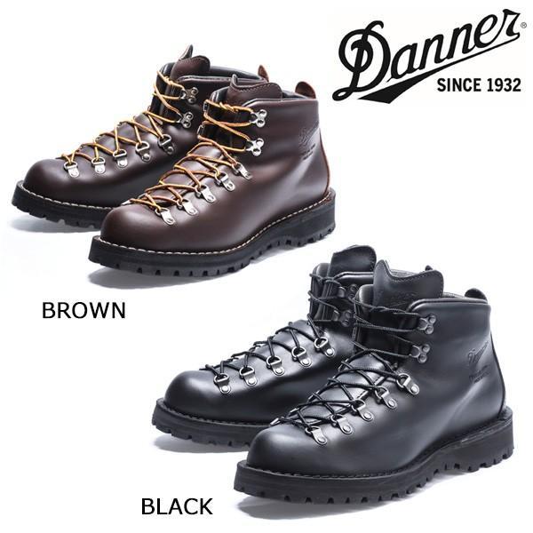 DANNER/ダナー MOUNTAIN LIGHT ダナーマウンテンライト BLACK/BROWN