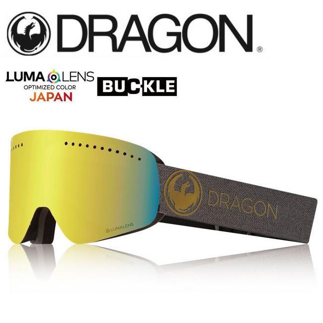 2019 DRAGON ドラゴン NFX ECHO ゴールド/LUMALENSJ.ゴールドION 【2019/ゴーグル/日本正規品/ジャパンフィット】