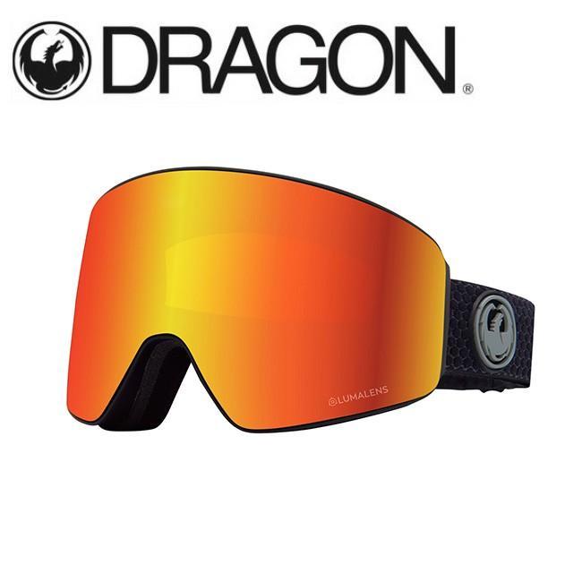 公式の  DRAGON ドラゴン PXV SPLIT GREY/LUMALENS J. RED ION 【2020/ゴーグル/日本正規品/ジャパンフィット】, サガス fbcd8b3e