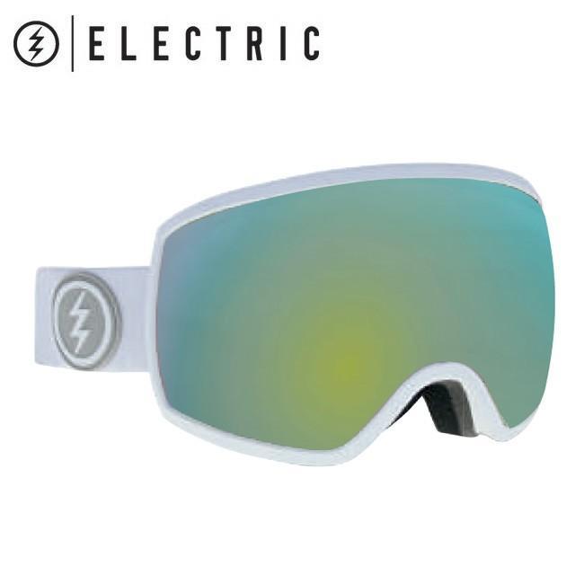 2019 ELECTRIC エレクトリック EGG MATTE 白い グレー/ゴールド CHROME 19EGGMW 【2019/ゴーグル/スノーボード/スノー/日本正規品/アジアンフィット】
