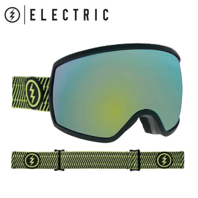 2019 ELECTRIC エレクトリック EGG VOLT STRIPE グレー/ゴールド CHROME 19EGGVS 【2019/ゴーグル/スノーボード/スノー/日本正規品/アジアンフィット】