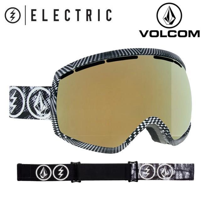 2019 ELECTRIC エレクトリック EG2 VOLCOM CO - LAB BROSE LIGHT/ゴールド CHROME 19EG2VCO 【2019/ゴーグル/日本正規品/アジアンフィット】