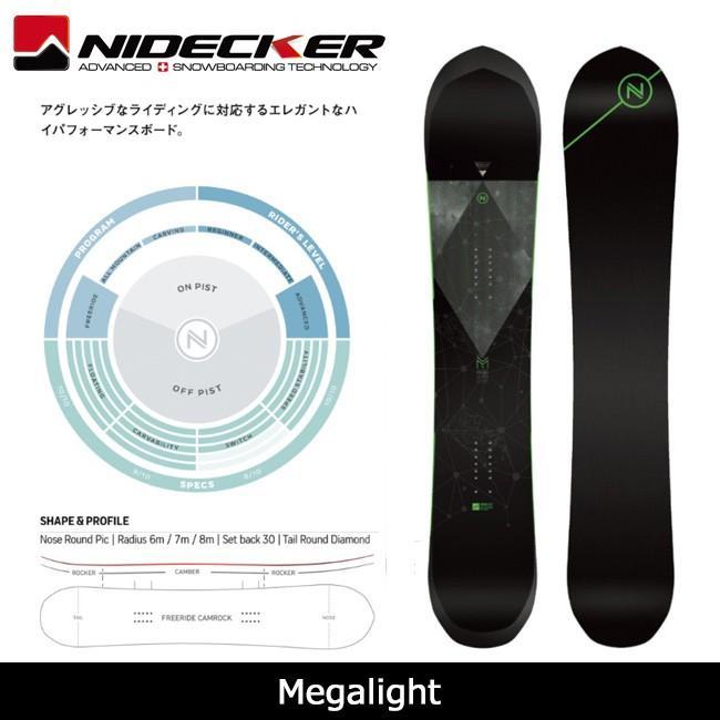 本物保証!  2018 NIDECKER 2018 ナイデッカー NIDECKER スノーボード Megalight【板 Megalight】日本正規品, グッドセレクトストアー:5dd2dac8 --- airmodconsu.dominiotemporario.com