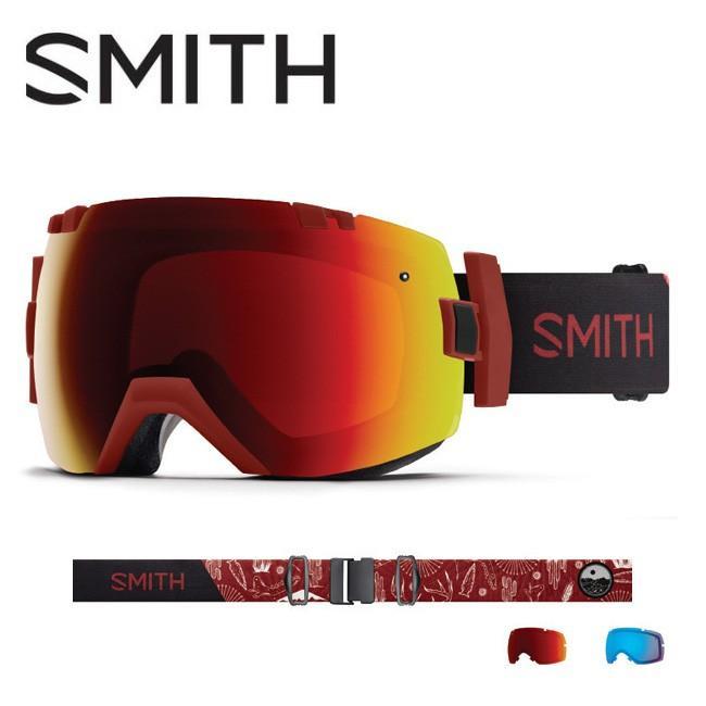 2019 スミス SMITH OPTICS I/OX Oxide Mojave CP Sun 赤 Mirror / CP Storm Rose Flash 【2019/ゴーグル/日本正規品/ジャパンフィット/アジアンフィット】