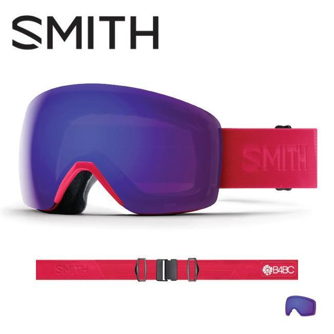 2019 スミス SMITH OPTICS Skyline B4BC CP Everyday Violet Mirror 【2019/ゴーグル/日本正規品/ジャパンフィット/アジアンフィット】