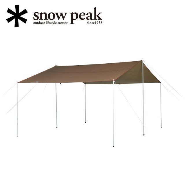 snowpeak スノーピーク HD-Tarp Recta M HDタープ シールド レクタ(M) TP-841H 【タープ/アウトドア/キャンプ/リビングスペース】