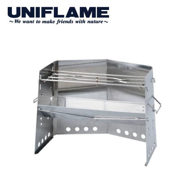 ユニフレーム UNIFLAME 薪グリル/682906 【UNI-BBQF】 グリル アウトドアグリル BBQ キャンプ バーベキュー 薪 highball
