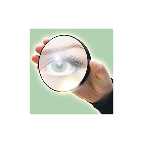 Rio 10 X Magnification Mirror with Light (Pack of 6) - 光リオ10×倍率ミラー x6