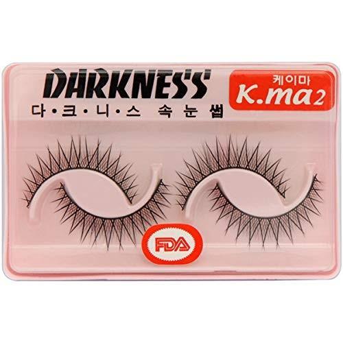 Darkness Faux Eye Lashes ダークネス 人工まつげ:K-MA2[並行輸入品]