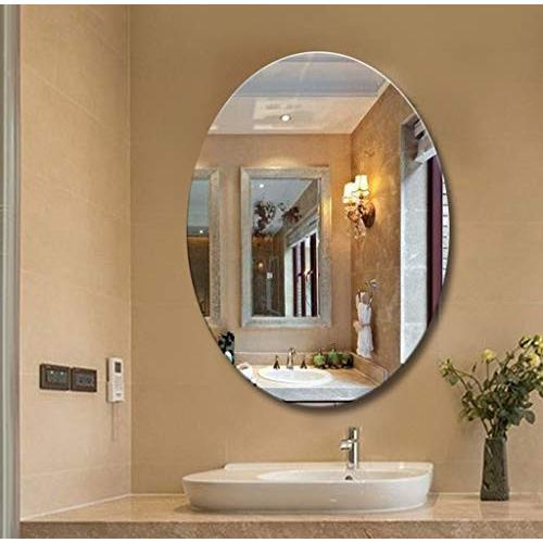 バスルームミラーオーバルバスルームウォールミラー バスルームミラーオーバルバスルームウォールミラー (サイズ さいず : 60 * 80cm)