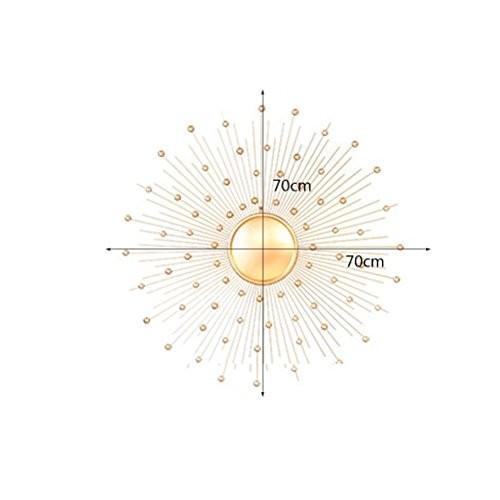 YD ミラー 鍛鉄製ゴールデンウォールマウント環境保護耐久性と美しさ3種類のあらゆるサイズに対応可能 /& (サイズ さいず :