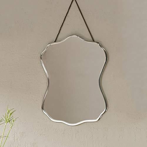 RMXMY RMXMY 個性ファッション創造的な形のガラス壁の壁の壁掛けの装飾シンプルな雰囲気の不規則なドレッシングミラー