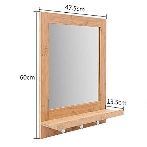超可爱の Selm Selm 浴室用ミラー寝室の化粧室に適した棚付きミラーを壁掛け化粧台ミラー (Size (Size : : A), 練馬区:a7210aaf --- grafis.com.tr