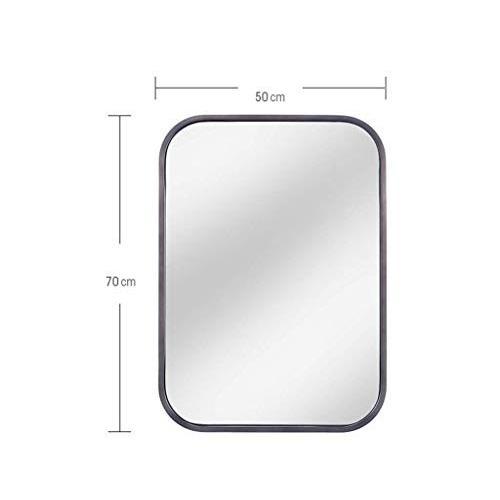 Selm 化粧鏡ステンレス鋼の浴室の壁に取り付けられたバニティミラー美容ミラー