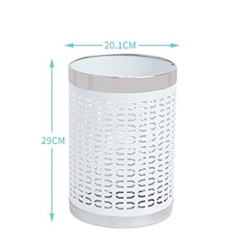 Hdhxt ごみ箱 ラウンドゴミ箱ダブルプラスチックゴミ箱収納箱ホームバスルームキッチンブラックラバーベースカバーなし屋内ゴミ箱屋内ゴミ箱 屋内ゴミ箱