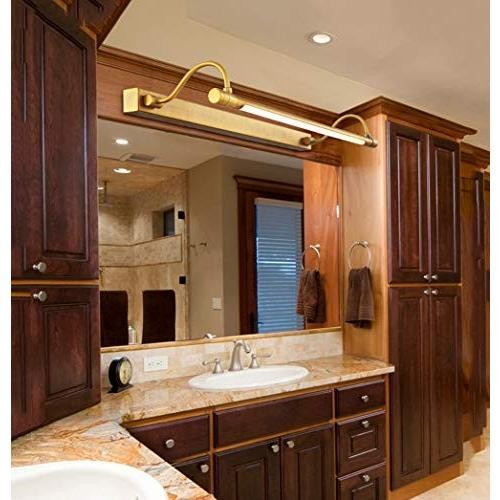 現代の家庭用ミラーライト - - 銅家庭用バスルームミラーキャビネットウォールランプバスルームバスルームドレッシングランプ