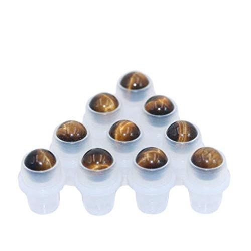 【楽ギフ_のし宛書】 Furnido 10 Pack Oils,Use Natural 10 Crystal Essential Stones Roller Ball For Essential Oils,Use, マルサク佐藤製材:ab00da18 --- sonpurmela.online