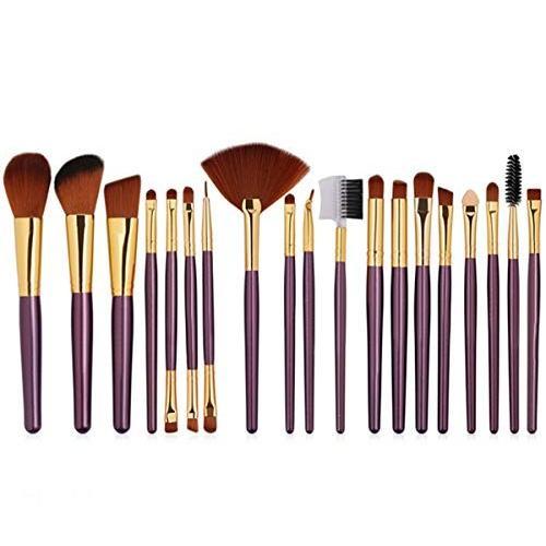 化粧用品 メイクアップツール美容メイクブラシブラシ赤セットブラシ柔らかい、強い親和性、強いグリップ、柔らかい色、顔の輪郭に適して - - - f38