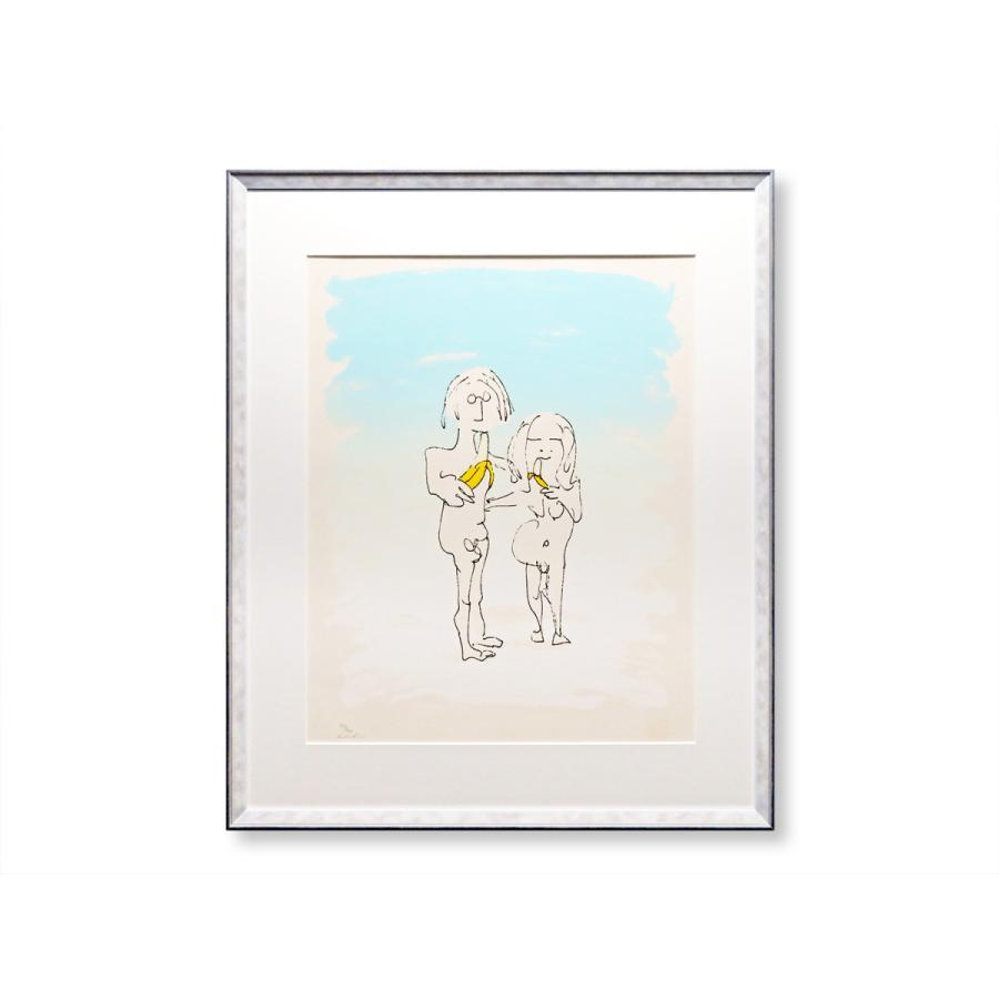 エスタンプ 額付 Two Virgins/ジョン・レノン ビートルズ ロンドン イギリス UK John Lennon アート art 音楽 ロック 日本 Japan Beatles highspirits-art