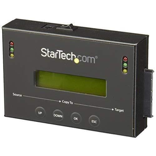 StarTech.com スタンドアローン2.5/3.5インチSATA HDD/SSDデュプリケーター&イレーサー 1対1対応コピー機 マルチイメー