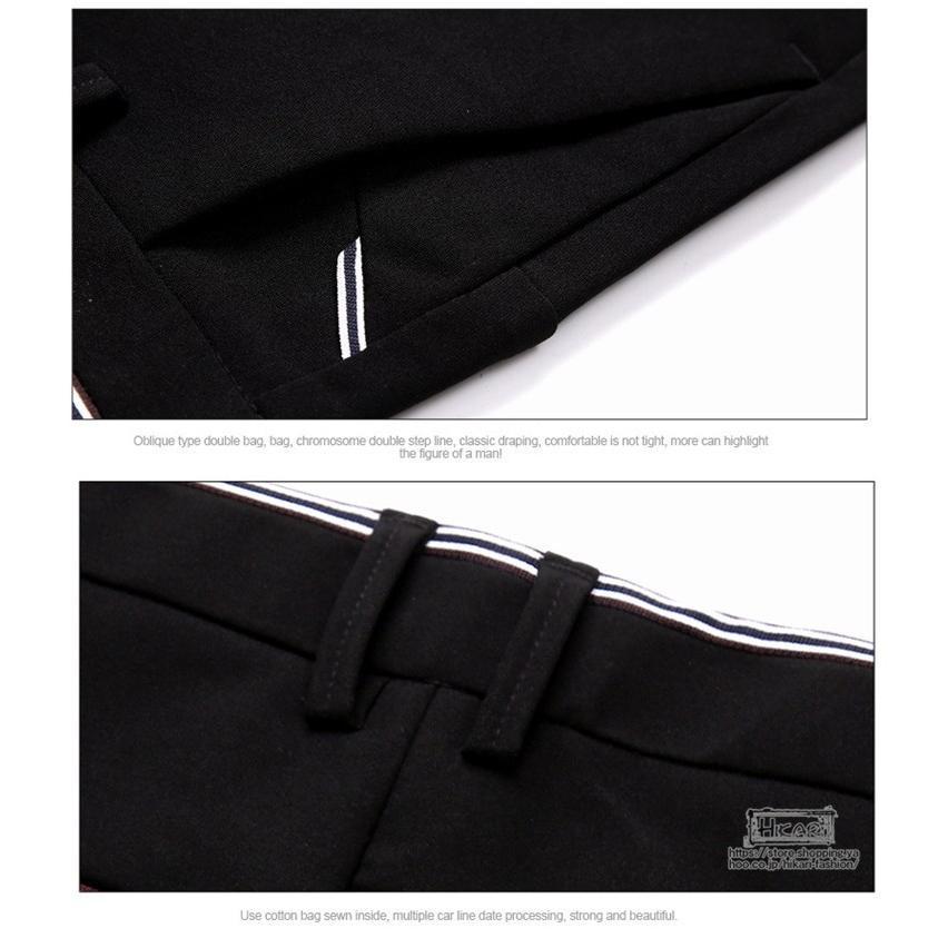 スキニーパンツ メンズ スラックス チノパン ビジネス ボトムス ストレッチ スリム 美脚 フォーマル 通勤 父の日|hikari-fashion|13