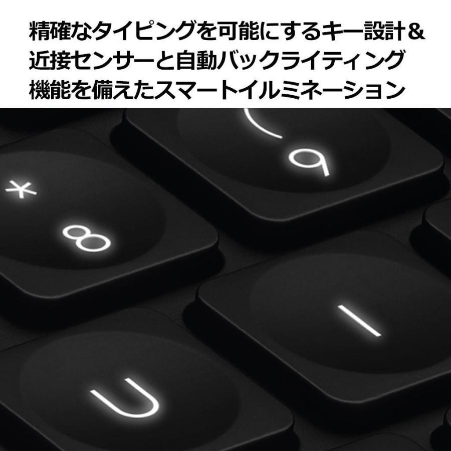 ロジクール キーボード ワイヤレス 無線 KX1000s 青tooth CRAFT マルチデバイス Windows,Mac対応 Ado
