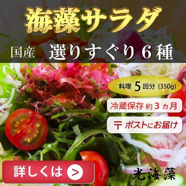 訳あり 海藻サラダ 350g 6種類 無料サンプルOK 塩蔵 国産