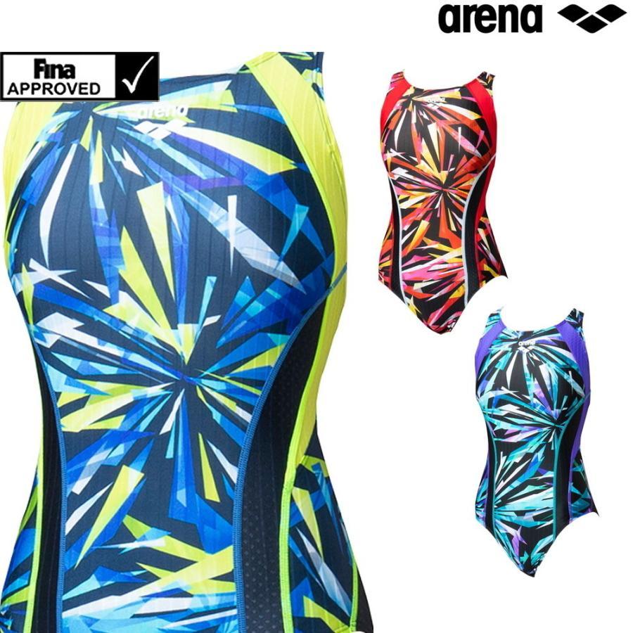 アリーナ ARENA 競泳水着 レディース fina承認 海外 激安超特価 セイフリーバック Diamond 着やストラップ 2020年秋冬モデル Flex-ST FAR-0570W