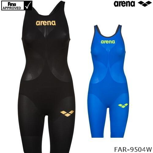 アリーナ レディース 競泳水着 POWERSKIN CARBON AIR2 人気の製品 カーボンエアスクエア メーカー公式ショップ ハーフスパッツオープンバック パワースキン FAR-9504W